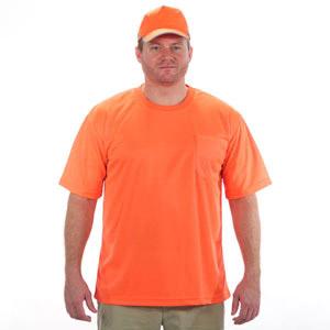 the bright side of fluorescent orange safety shirts. Black Bedroom Furniture Sets. Home Design Ideas