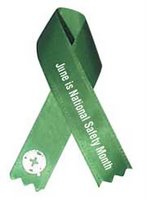 National Safety Month Ribbon